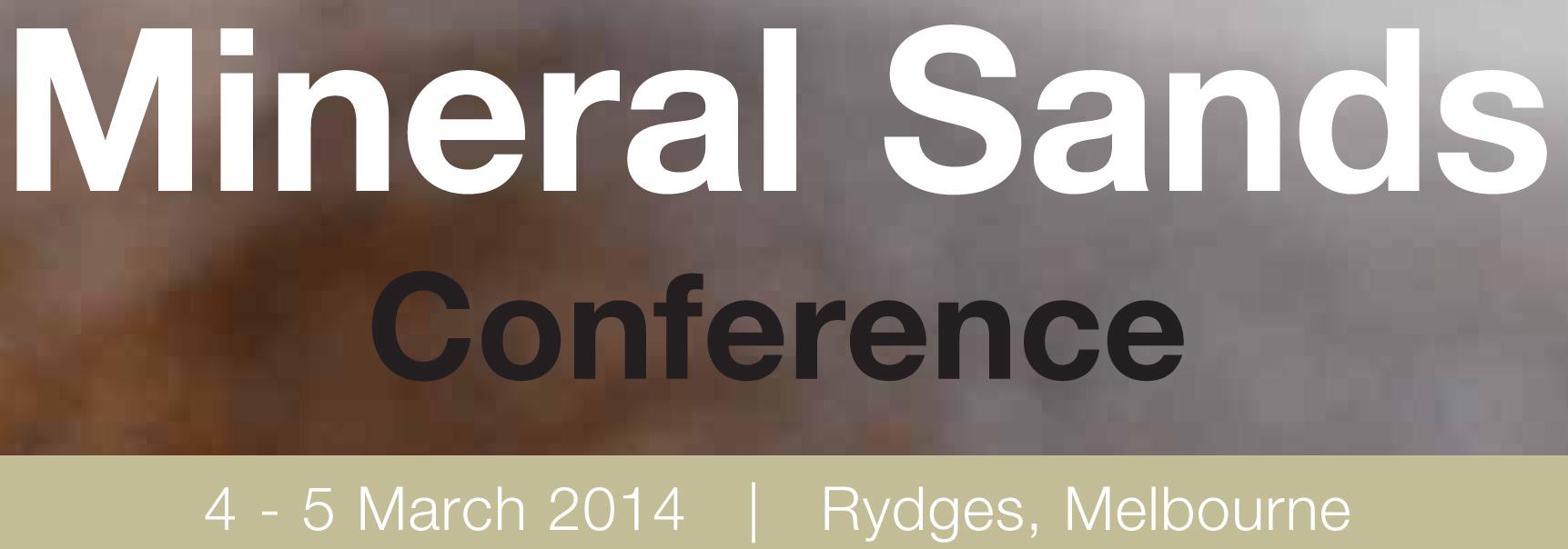 Mineral sands conference